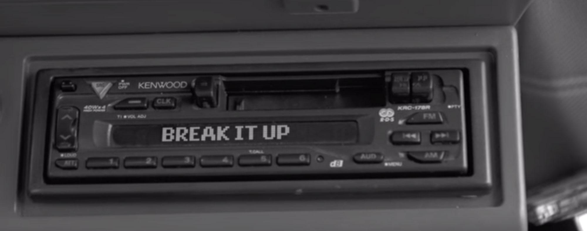 """""""Break It Up"""" op playlist Radio 2"""